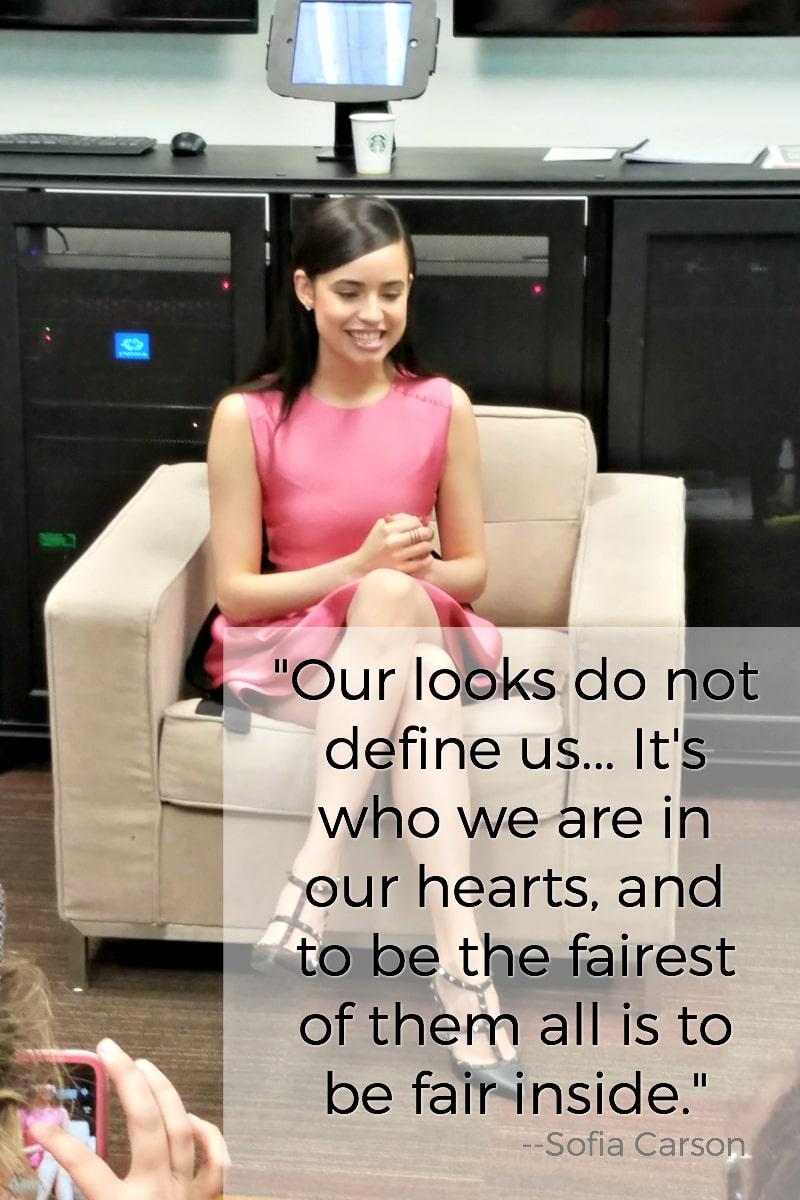 Disney's Descendants 2 Cast Interview Quotes Sofia Carson