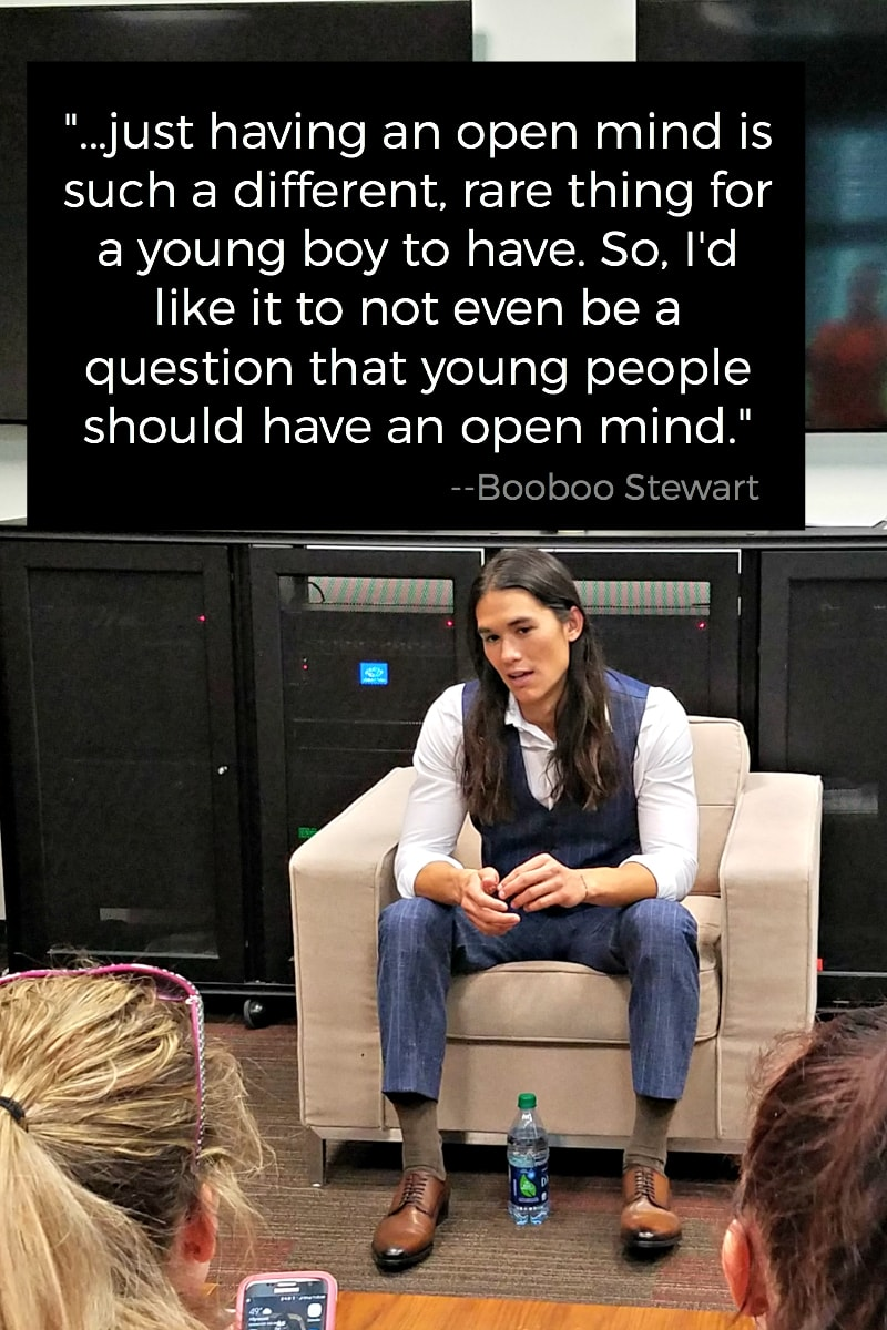 Disney's Descendants 2 Cast Interview Quotes Booboo Stewart