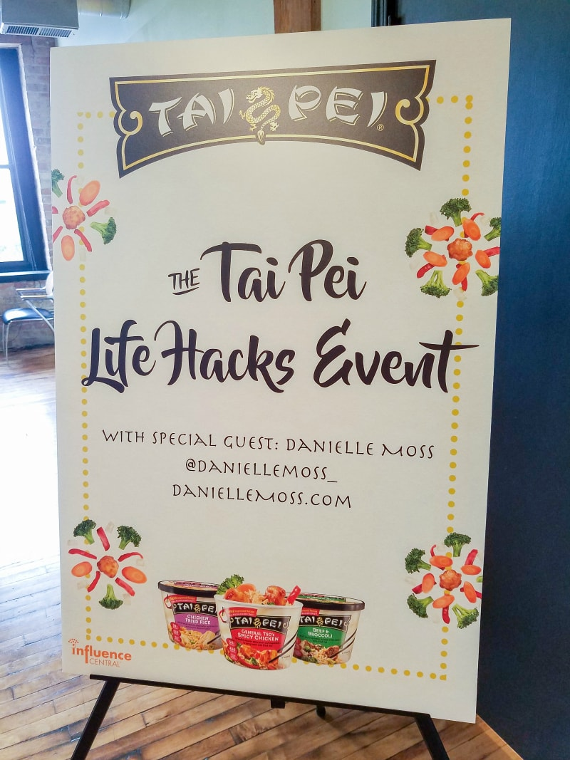 Tai Pei Foods and Life Hacks with Danielle Moss