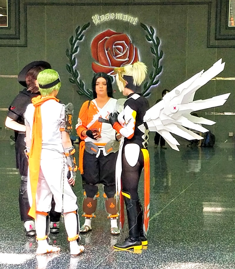 Chicago Anime Convention - Anime Midwest 2017 Highlights - Mercy from Overwatch