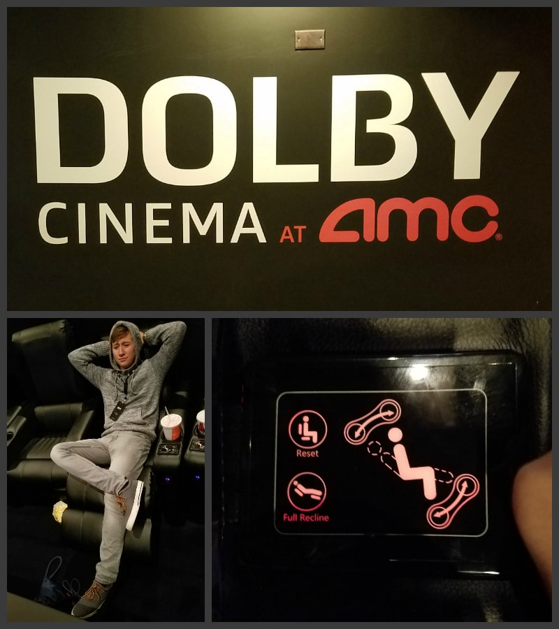 The full Dolby Cinema Experience at Theater 10 AMC River North in Chicago