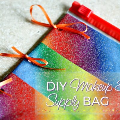 Super Simple, Magical DIY Makeup Bag or Binder Supply Bag