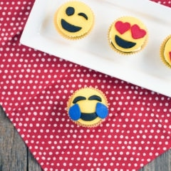 A Little History, An Interesting Realization, and Adorable Emoji Cupcakes Recipe