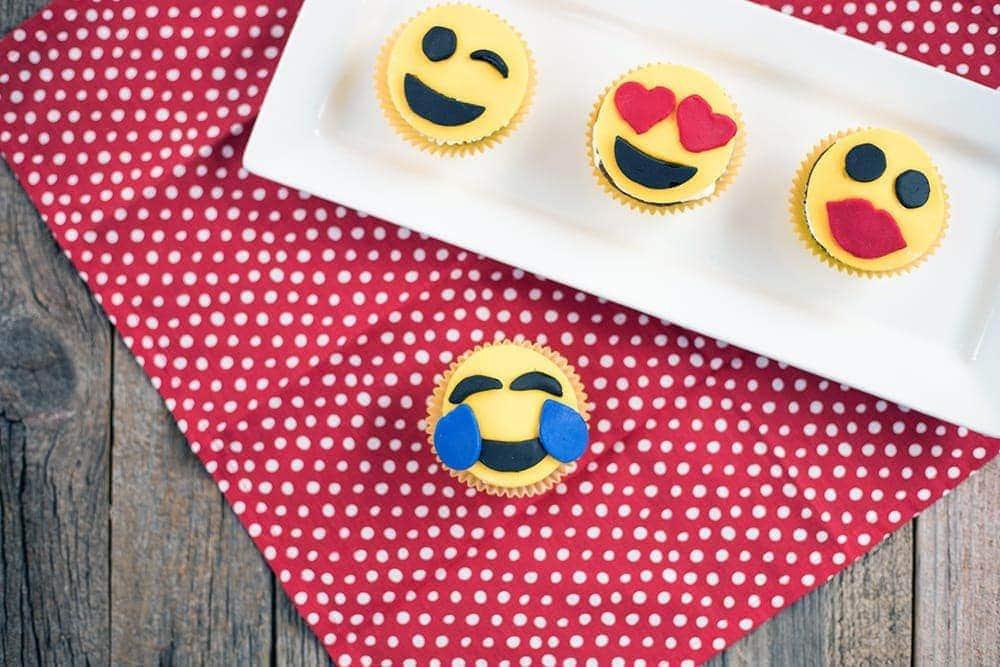 Adorable Emoji Cupcakes Recipe