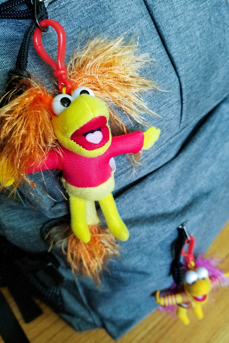 Back to School fun ideas - Fraggle Rock Backpack Clips
