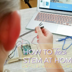 How to Teach STEM at Home – Soil Moisture Monitor Kit