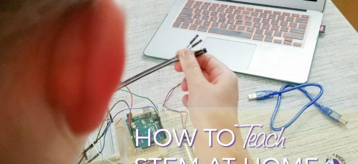 How to Teach STEM at Home – Soil Moisture Monitor Kit