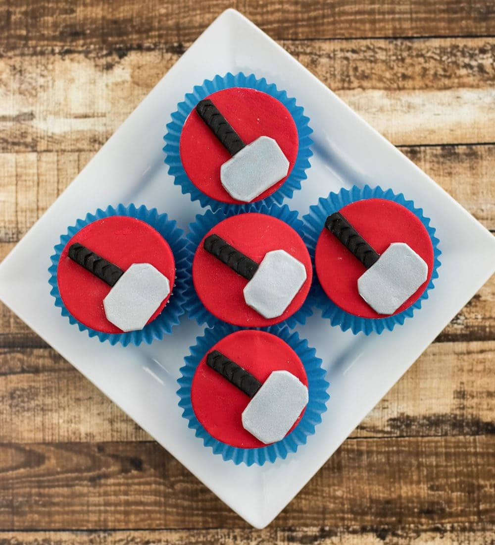 Thor Ragnorok Inspired Cupcake Recipe
