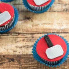 Marvel Cupcakes – Thor Ragnorok Inspired Cupcake Recipe