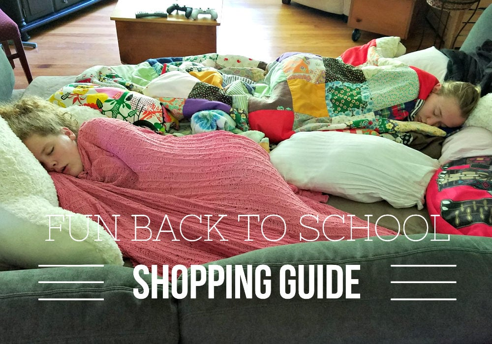 Extra Fun and Adventurous Back To School Shopping Guide