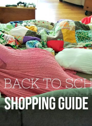 Comfy and Educational Back To School Shopping Guide