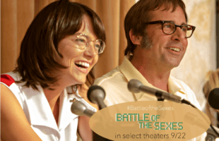Billie Jean King's Battle of the Sexes Movie Review #BattleoftheSexes AD