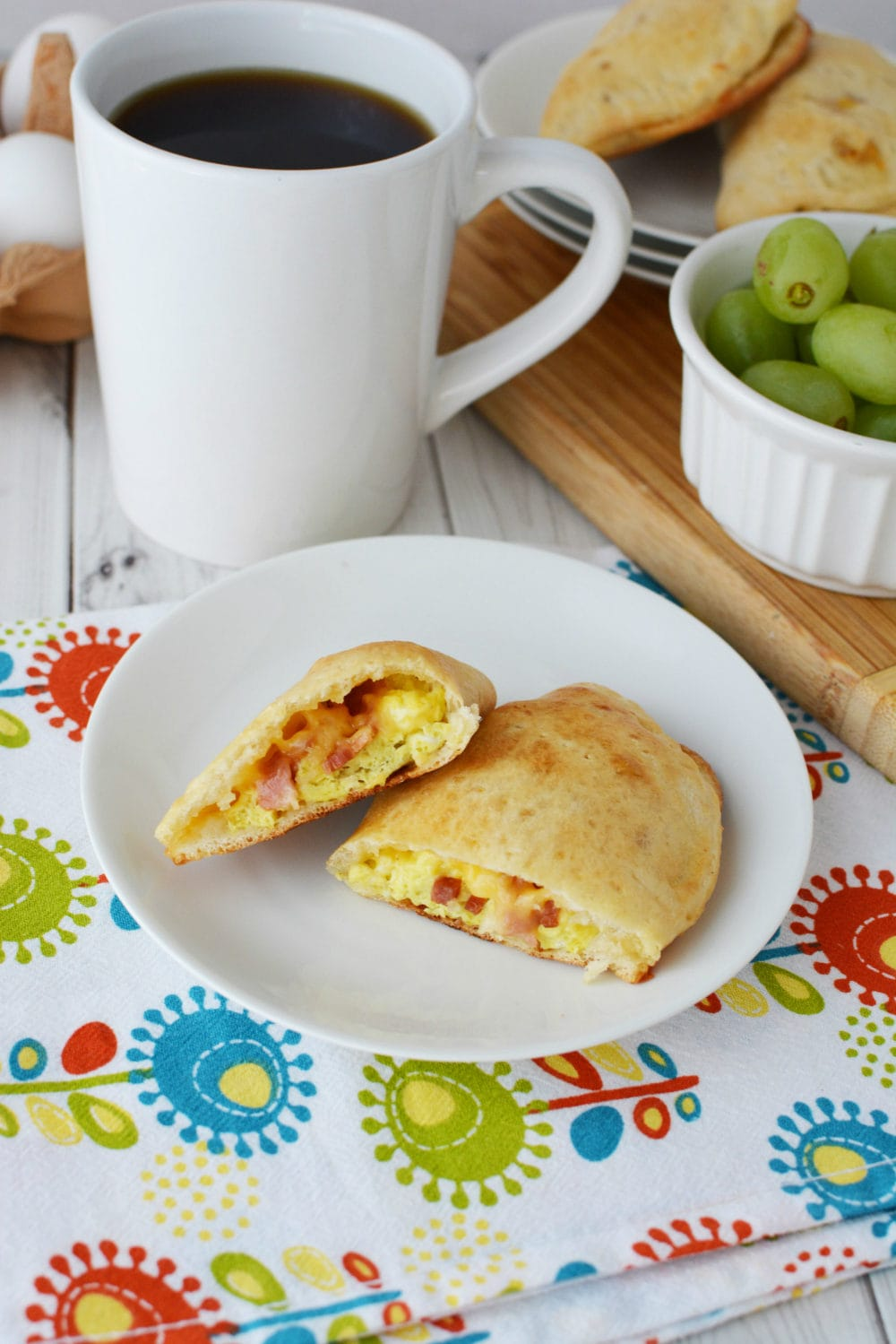 Bacon, egg, and Cheese Calzone Recipe