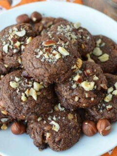 Easy Chocolate Hazelnut Cookie Recipe with Only 4 Ingredients