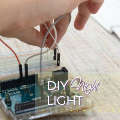 DIY Night Light Teaches Teens How To Code