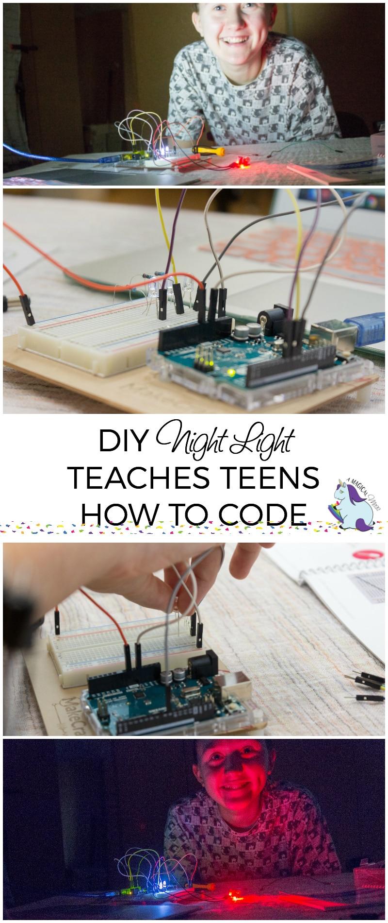 DIY Night Light Teaches Teens How To Code