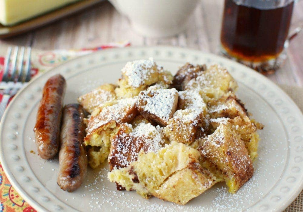 Overnight Slow Cooker French Toast Recipe