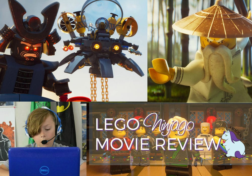 LEGO Ninjago Movie Review - The Kid Friendly Take