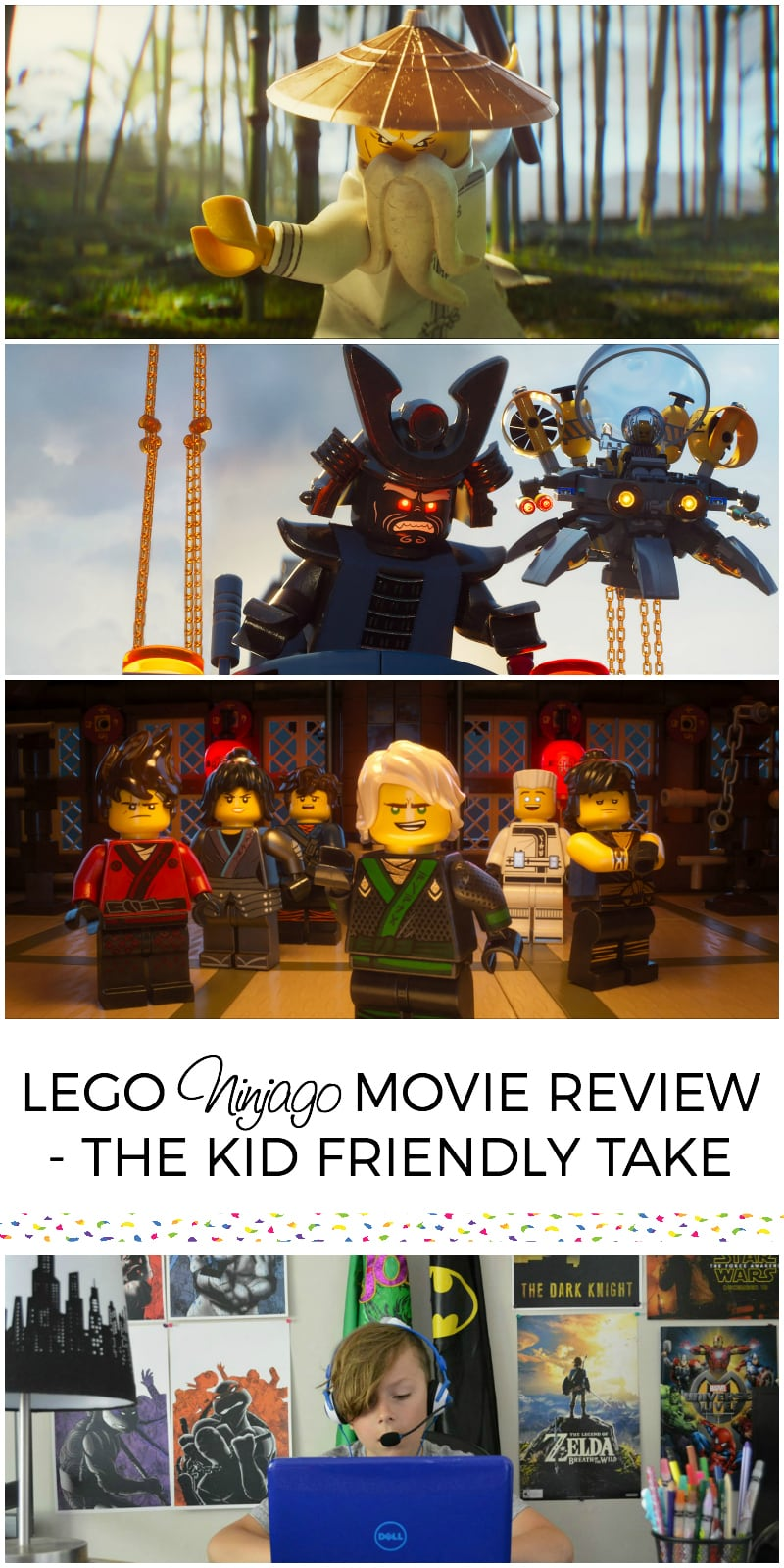 LEGO Ninjago Movie Review - The Kid Friendly Take