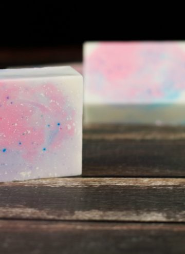 How to Make Homemade Bar Soap – Cotton Candy Unicorn