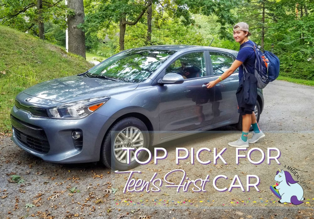 My Number 1 Pick for Best Cars for Teens 2018 Kia Rio