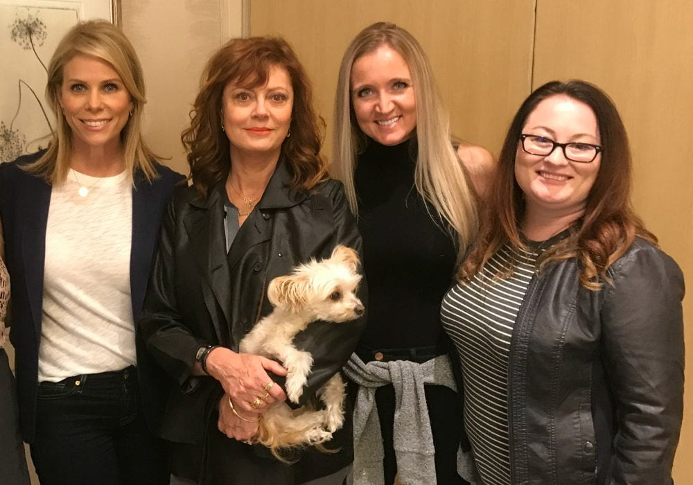 Brace Yourself for A Bad Moms Christmas - In theaters November 1st! #BadMomsXmas Cheryl Hines, Susan Sarandon, Shelley VanWitzenburg, Stefanie Fauquet, and Penny :)