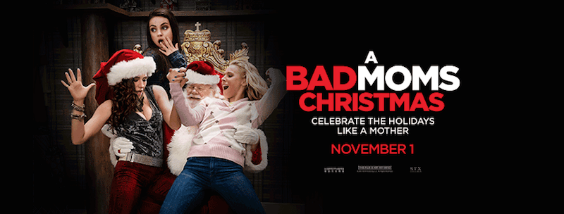 Brace Yourself for A Bad Moms Christmas - In theaters November 1st! #BadMomsXmas