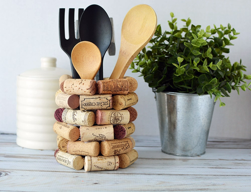 Wine Cork Craft Ideas DIY Kitchen