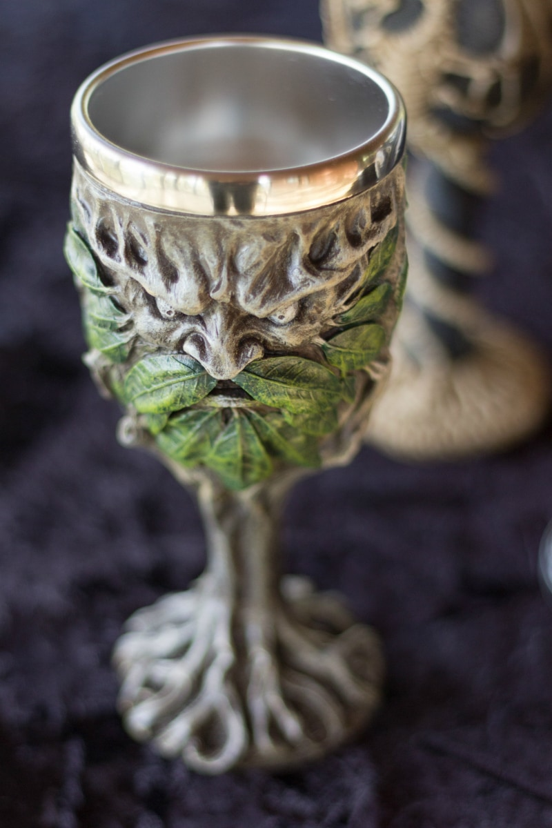 Ancient tree spirit chalice