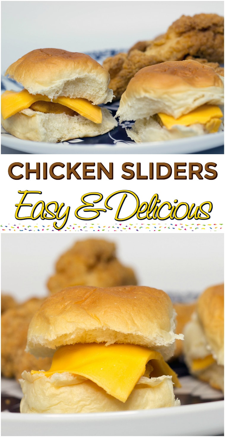 Easy Chicken Sliders Recipe