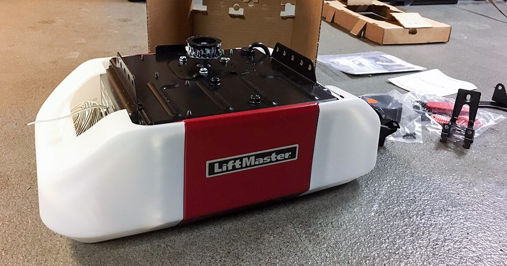 LiftMaster Garage Door Opener with MyQ smartphone app