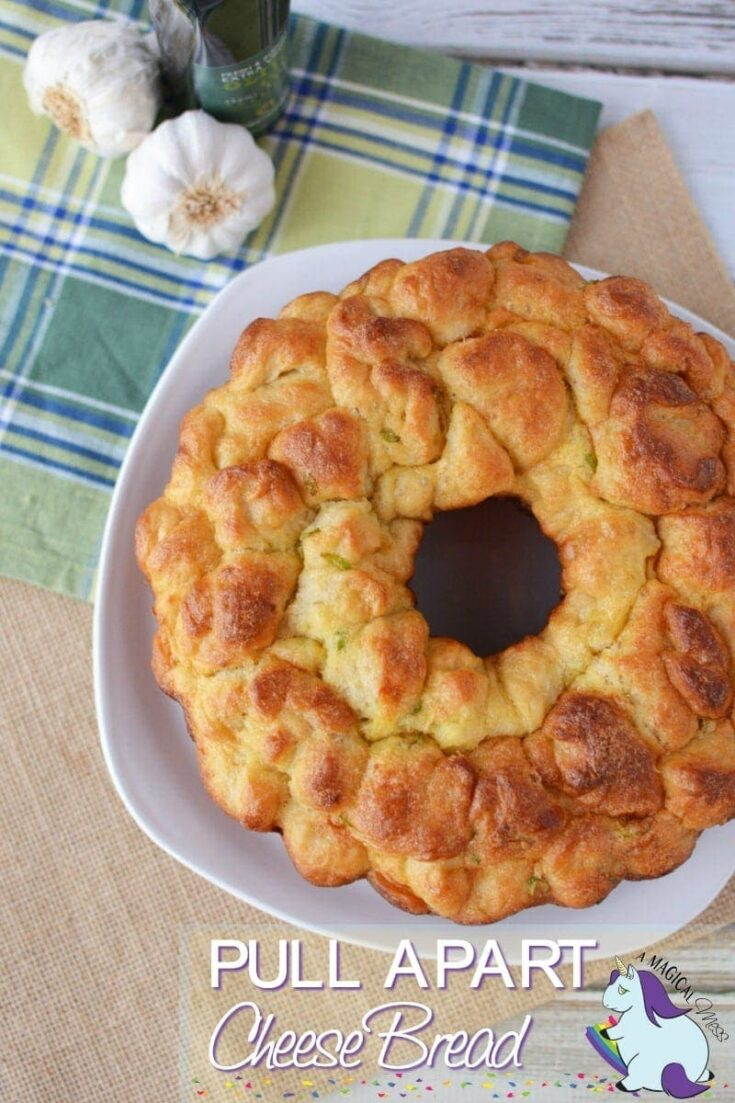 Garlic and Onion Pull Apart Cheese Bread Recipe