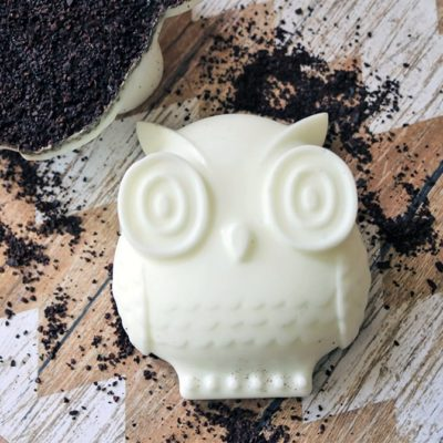 DIY Coffee Soap with Cardamom and Lime