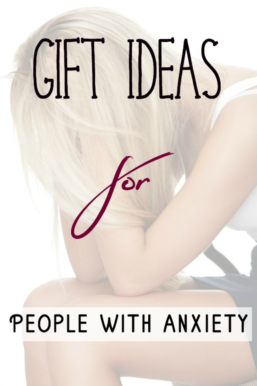 Comforting and Relaxing Gifts for Anxious People #anxiety #stress #giftguide #giftideas #gifts