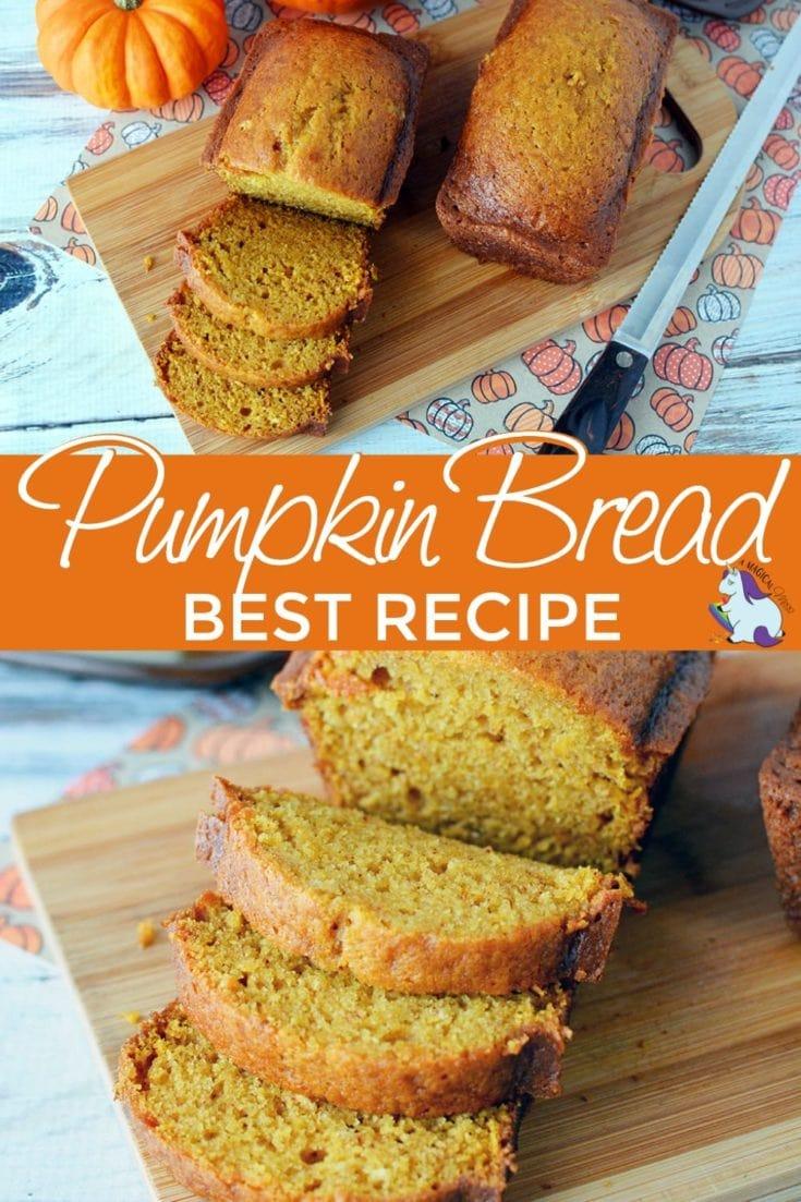 Super yummy pumpkin bread
