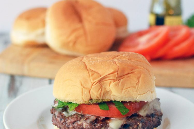 Grilled Italian Burger to add to your Tasty Burger Recipes