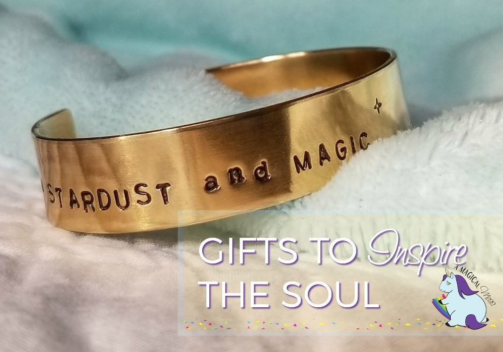 Bracelet that says stardust and magic