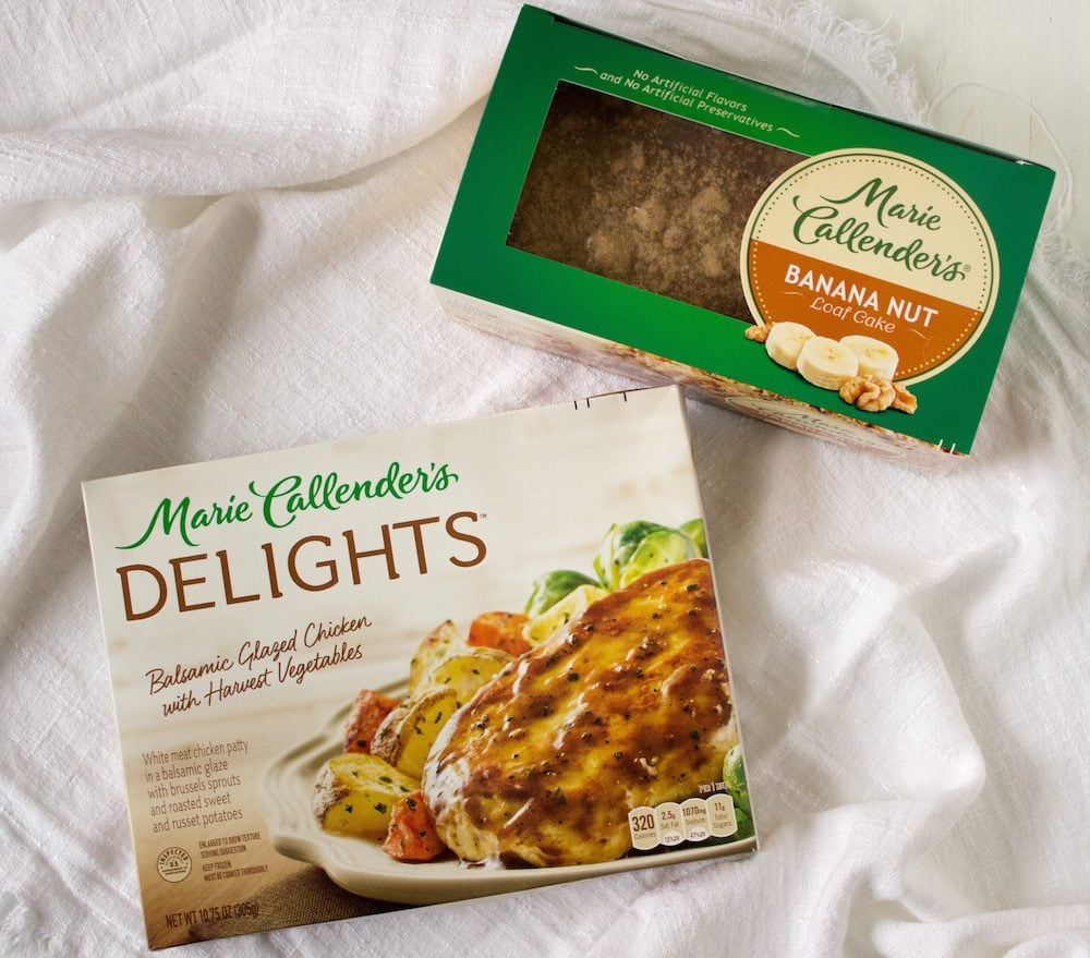 Best Frozen Meals that Leave Room for Dessert #DelightsandLoafCakes #MarieCallenders