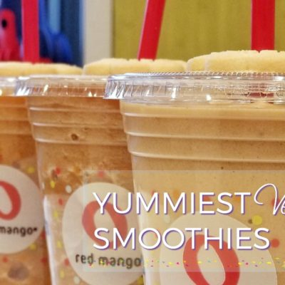 Yummiest Gluten Free and Vegan Red Mango Smoothies