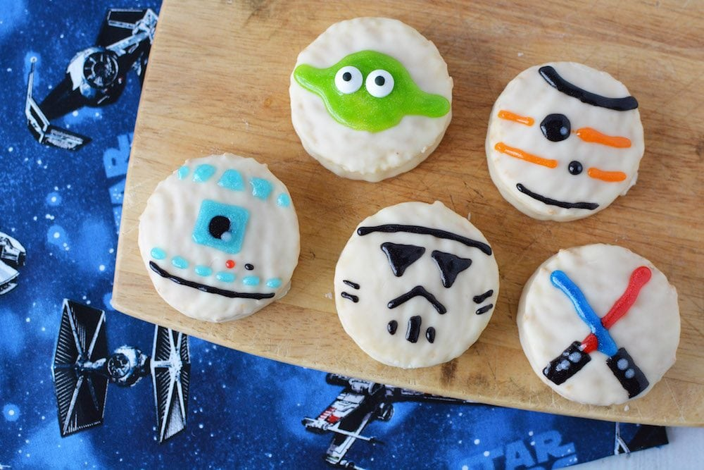 Easy Star Wars themed desserts