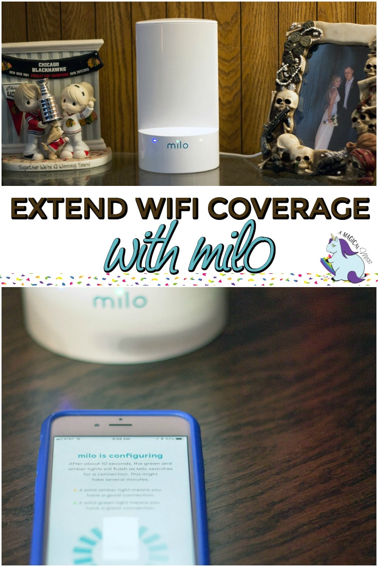 Affordable Way to Extend Wifi Coverage with Milo #milowifi @MiloWifi #ad #household #tech #gadgets #homeoffice