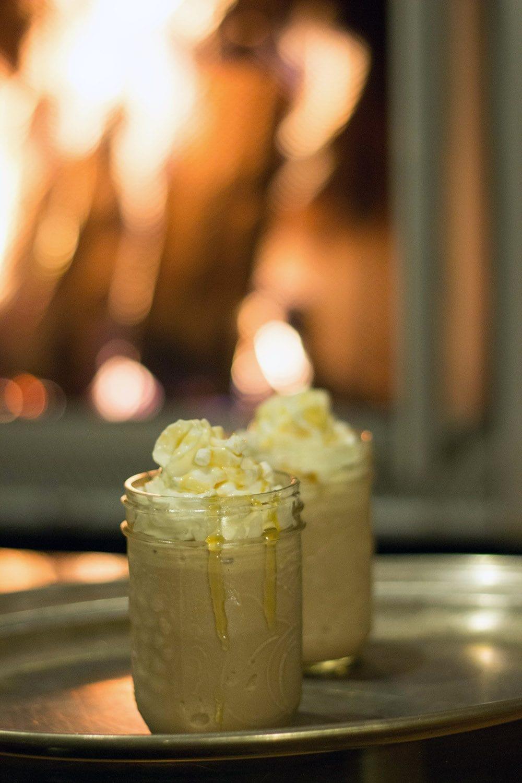 Hot chocolate frosty