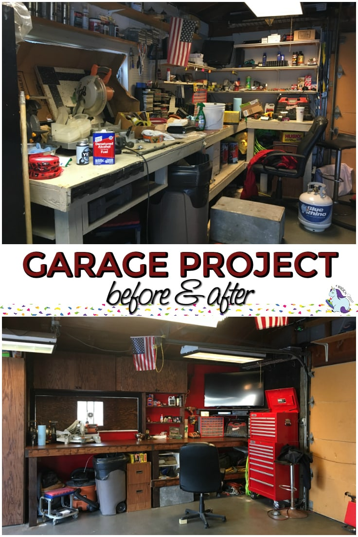 How to Organize the Garage - Update on Our Project
