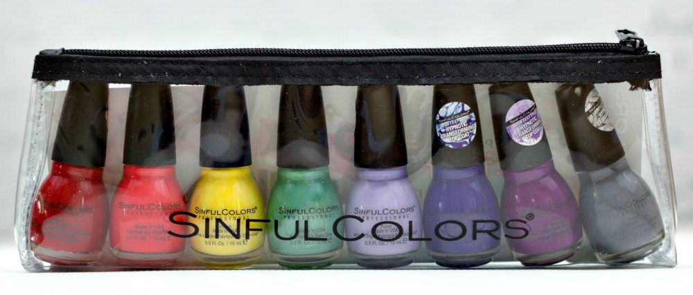 Nail polish gift set - Sinful Colors Punk Yourself Set of funky colors