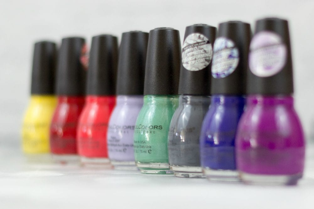 Sinful Colors Punk Yourself nail polish set