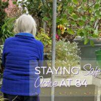 Bay Alarm Medical - Keeping Gram Active, Happy, and Healthy #BayAlarmMedical AD