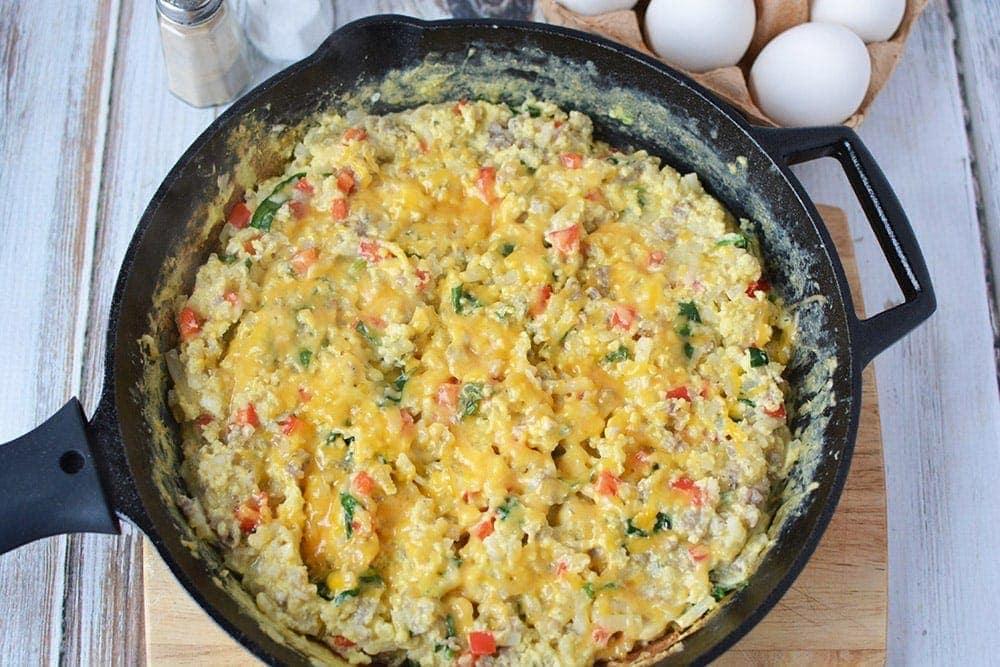 Tasty and Filling Breakfast Scramble Recipe