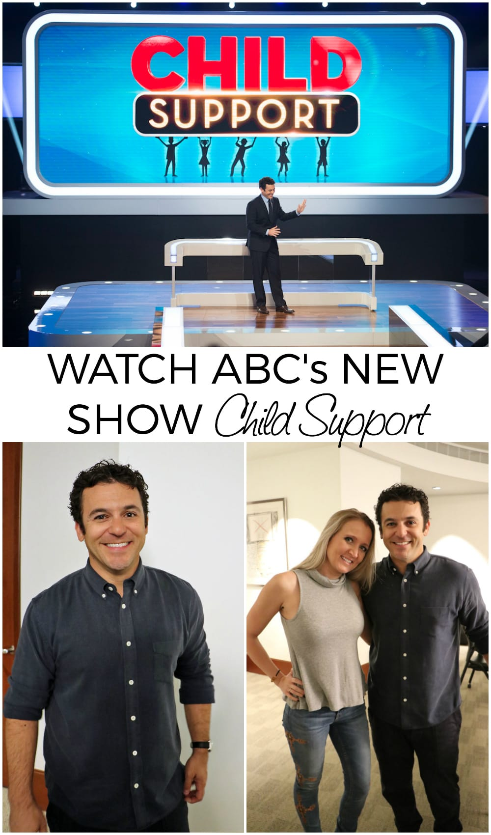 Fred Savage is Hosting the New Child Support Show. This show is surprisingly funny and entertaining! Catch the premiere 1/5 at 8 PM EDT on ABC! #ChildSupportABC #ABCTVEvent