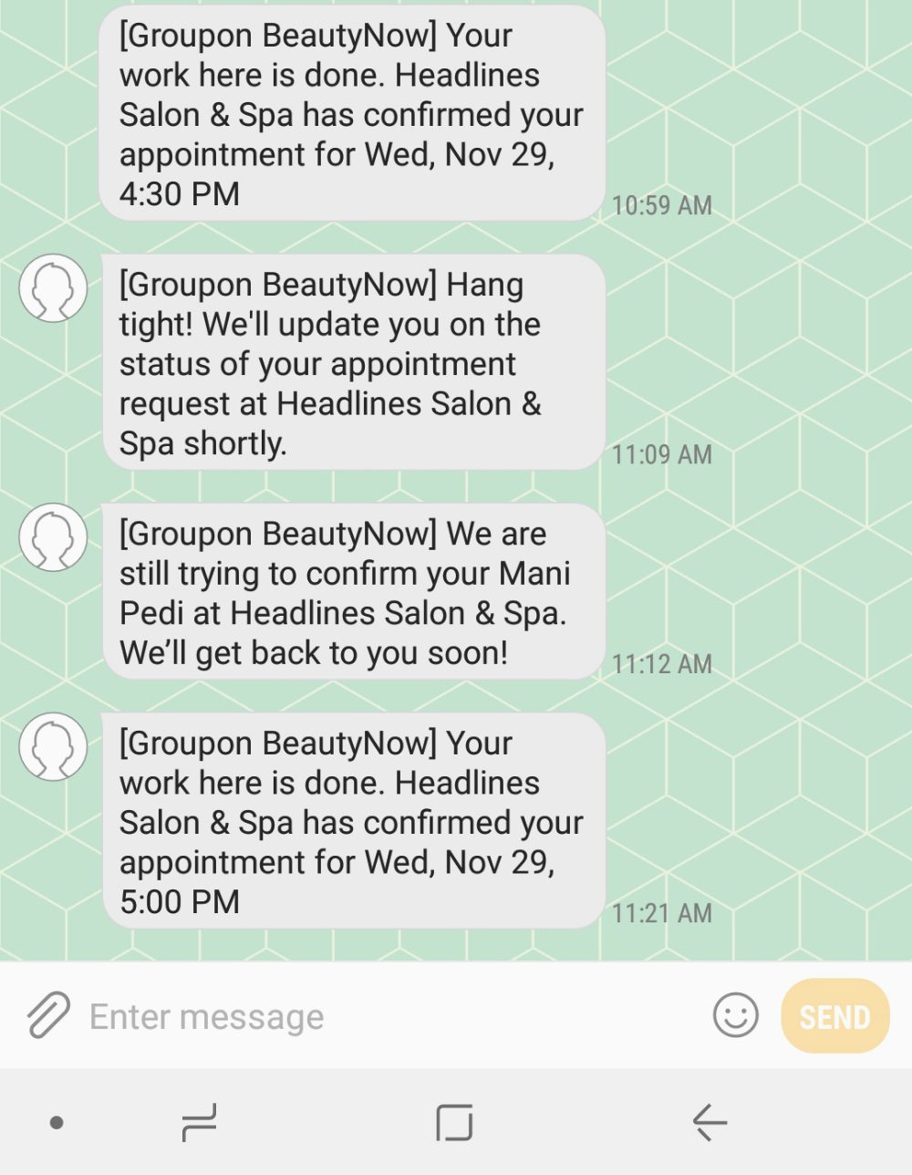 Salon Services Via the Groupon App Giveaway #GrouponBeautyNow #GetBeautyNow AD
