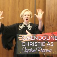 Gwendoline Christie as Captain Phasma in Star Wars: The Last Jedi #TheLastJediEvent
